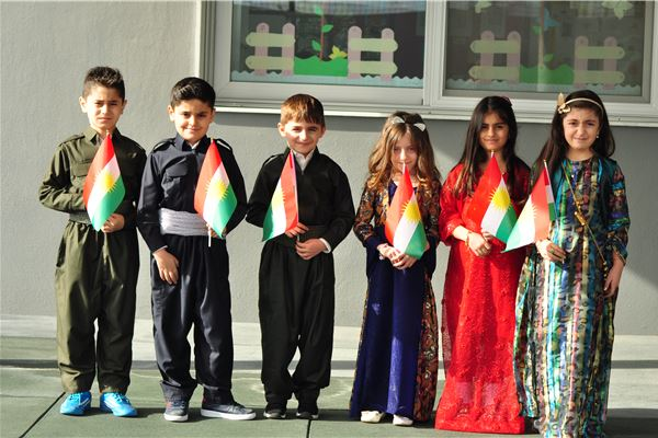 Traditional Kurdish Clothes Day